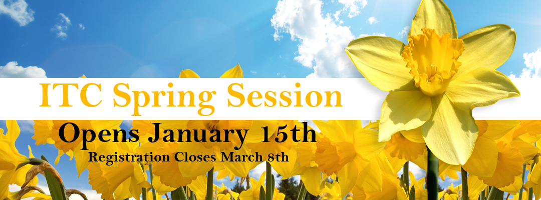 ITC Spring Session Opens January 15