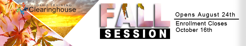Fall 2020 Session Banner